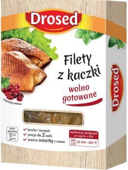 Filet z kaczki wolno gotowany